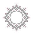 radial liear pattern or vignette vector image vector image
