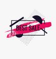 splash ink banner best sale original poster for vector image vector image