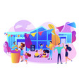 street party concept vector image