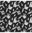 Tattoo machines pattern Black vector image vector image
