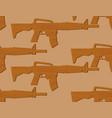 wooden gun kids pattern board weapons background vector image vector image