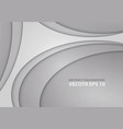 abstract gray curve design modern vector image vector image