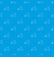 alien weapon toy pattern seamless blue vector image