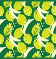 bananas tropic bold hand drawn seamless pattern vector image
