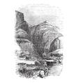 Delphi Greece vintage engraving vector image vector image