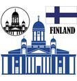 Finland vector image vector image