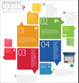 infographic modern design template 7 vector image vector image