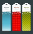Merry christmas background vertical banner vector | Price: 1 Credit (USD $1)