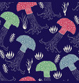 seamless pattern with jellies vector image vector image