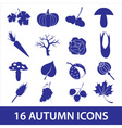 autumn icons eps10