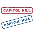 Capitol Hill Rubber Stamps vector image vector image
