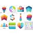 Creative arrows infographics set diagrams vector image vector image