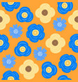 floral seamless pattern flat design for use vector image vector image