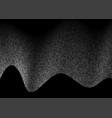 halftone dots background design vector image vector image