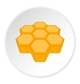 Honeycomb icon cartoon style vector image vector image