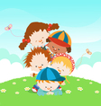 Kids having fun vector | Price: 3 Credits (USD $3)