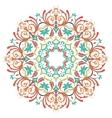 Mandala Round Colored Ornament Pattern vector image