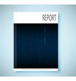 Report English code vector image vector image