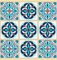 seamless texture beautiful colored pattern vector image vector image