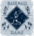 sport game baseball vector image vector image