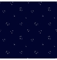 Starry sky seamless pattern vector image vector image