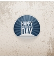 Sticker with Happy Presidents Day Text vector image vector image
