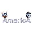 America vector image vector image