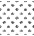 bio calendula pattern seamless vector image vector image