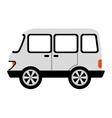 bus style car isolated icon design vector image