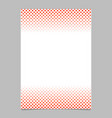 halftone geometrical circle and square pattern vector image vector image