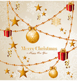 Merry Christmas elements background EPS10 file vector image vector image