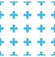 Unique Cross seamless pattern vector image vector image