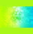 yellow teal blue green shades glowing various vector image vector image