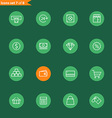 Different line style icons collection Mobile or vector image