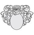 aristocratic emblem No20 vector image