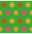 Flowers Seamless Texture vector image vector image