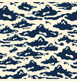 gorgeous seamless pattern with white and navy blue vector image vector image