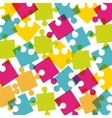 puzzle pieces design vector image vector image