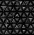seamless abstract 3d geometric background vector image