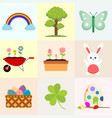 spring related object drawing graphic vector image