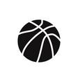 ball of basketball icon vector image