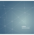 blue abstract background with transparent mesh vector image vector image