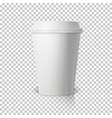 Coffee Cup Isolated on Transparent PS Style vector image vector image