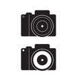 Dslr camera icon flat sign vector image