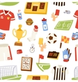 Euro soccer seamless pattern vector image vector image