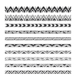 hand drawn design elements pattern brushes vector image