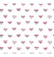 hearts seamless vector image vector image