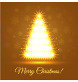 Illuminated Christmas Tree vector image vector image