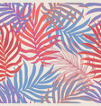 tropic leaves summer seamless pattern vector image vector image