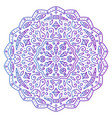abstract ornament mandala vector image